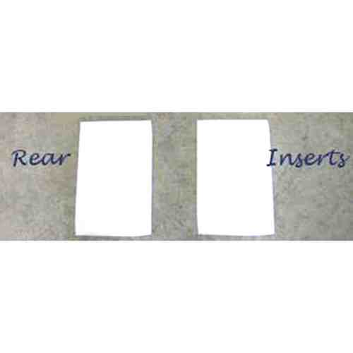 "ThinLinePro Tech Felt Western Pad Square or Barrel Inserts | Re M 1/4"" Rear"