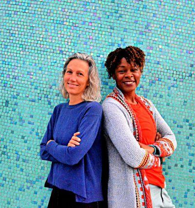 Chara Caruthers and Maria Kirsten