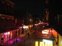 Bourbon Street Waking Up