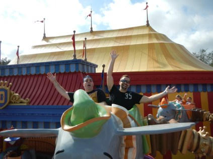 Kenin and his friend Brett being Dumbo's