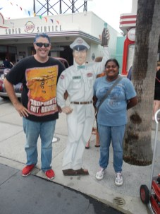 Lauren and Kenin with Coke Mechanic