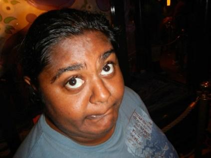 Lauren's Muppet Face