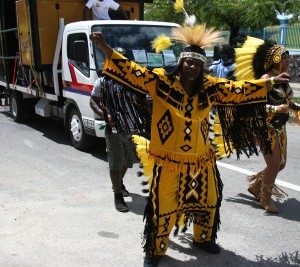 Carnival Costume Yellow and Black
