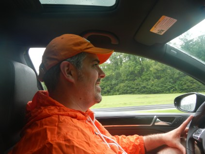 Kenin Driving in Smokies