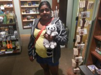 Lauren with more Plushies