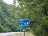 Entering Kentucky