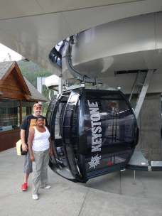 Snow Lift Gondola