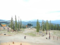 View From Top of Ski Lodge