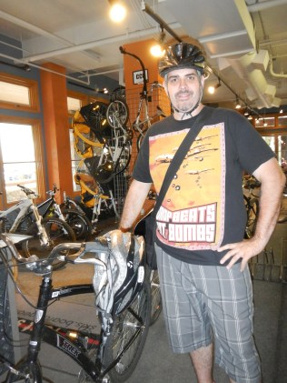 Kenin Pre Bike Ride