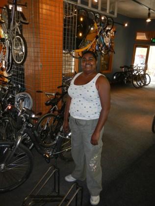 Lauren Post Bike Ride