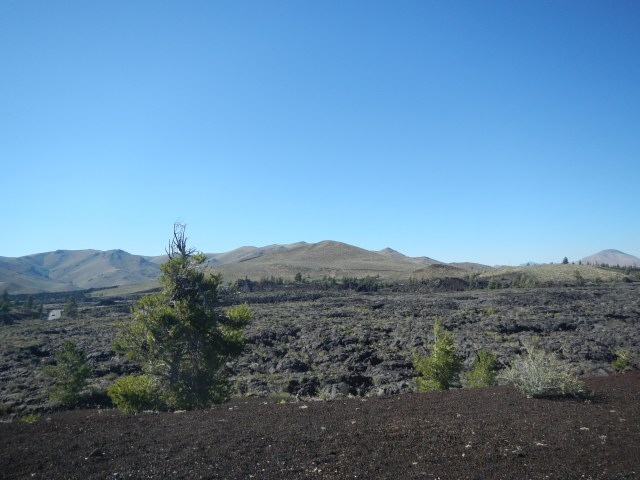 Craters of the Moon National Park Landscape