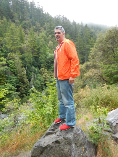 Kenin Hiking Six Rivers National Forest