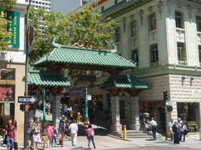 Downtown San Francisco Chinatown