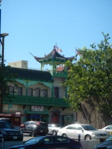 Buildings and stuff Chinatown LA
