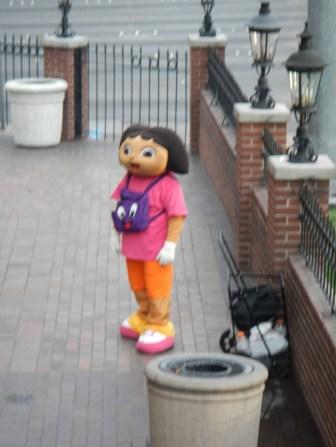 Beware of the Evil Dora