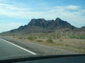 Driving down 93 in Arizona