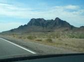 Driving down 93 in Arizona