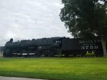 Train on Route 66 Arizona