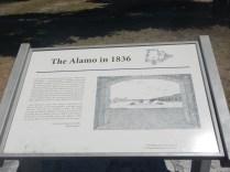 sign at The Alamo San Antonio TX