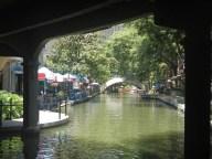 Along the riverwalk Downton San Antonio