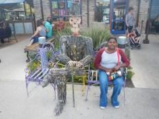 Public Art at La Gloria Old Pearl Brewery San Antonio TX
