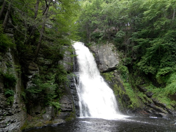 Main Falls at Bushkill Falls Pennsylvania