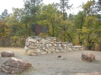 Entrance to Custer Park