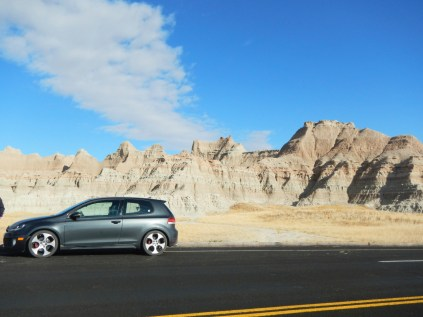 GTI in the Badlands