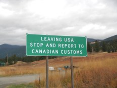 Crossing the USA - Canada Border