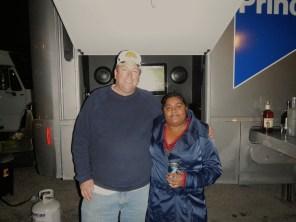 Lauren with Bill - CEO of Varsity Motorcoach