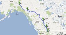 Kalispet, MT Banff, AB, Grande Prairie, AB Whitehorse, YK Tok, AK