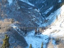 Train Bridge in Denali Park