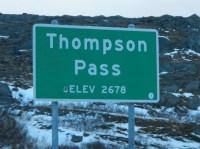 Entering Thompson Pass to Valdez AK