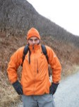 Kenin ready for a hike in Valdez AK