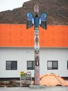 Totem Pole in Valdez AK