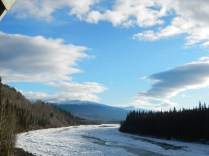 The Kluane River in the Yukon