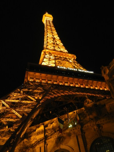 Eiffel Tower at Paris in Las Vegas
