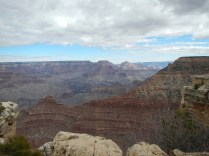 View of the Grand Canyon South Rim Arizona