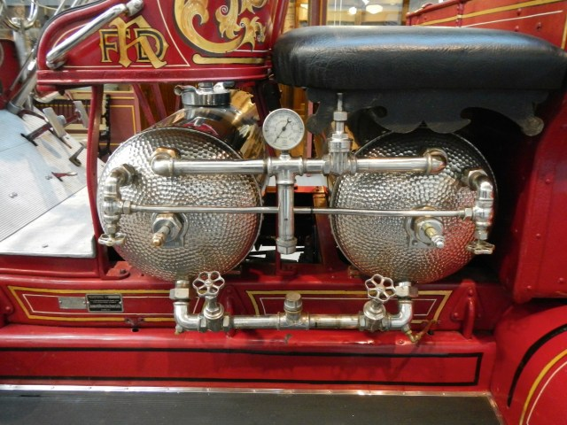 Detail of an old Fire Truck - Natinoal Automobile Museum Reno