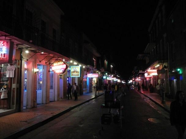 Bourbon Street New Orleans LA NOLA