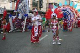 Wining in the streets for carnival in trinidad
