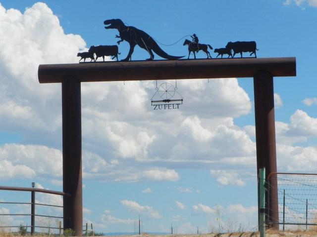 Dinosaur Ranch Entry Colorado