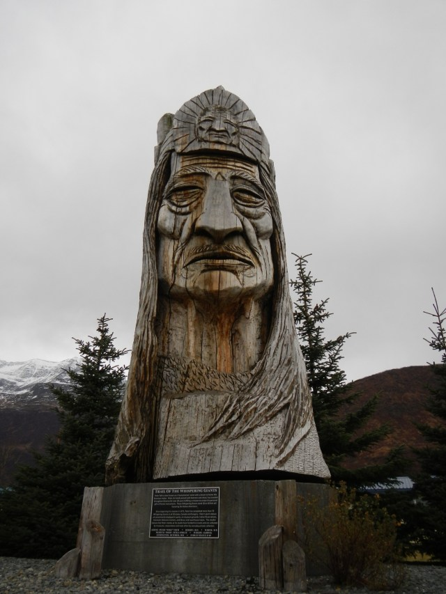 Man Statue Valdez AK