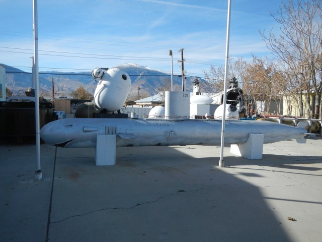 Torpedo outside of Hawthorne Ordinance Museum
