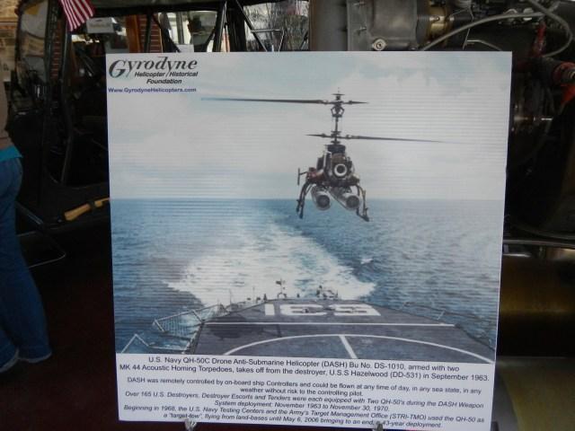 Gyrodyne Helicopter Display