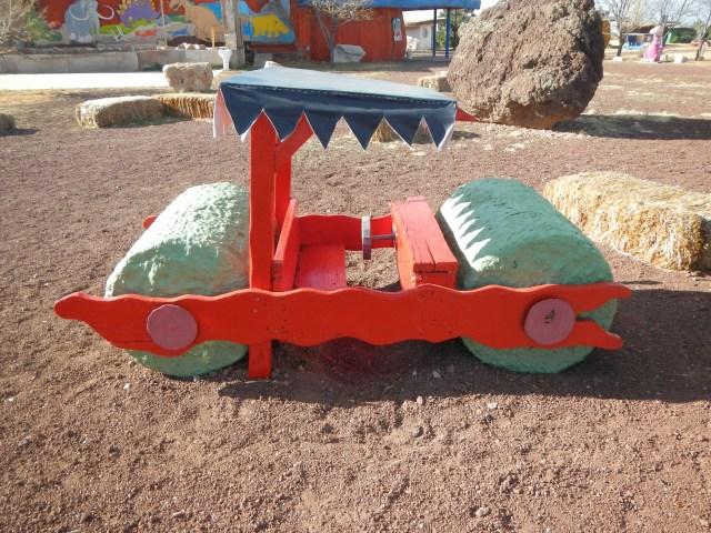 Flintstones car in red :)