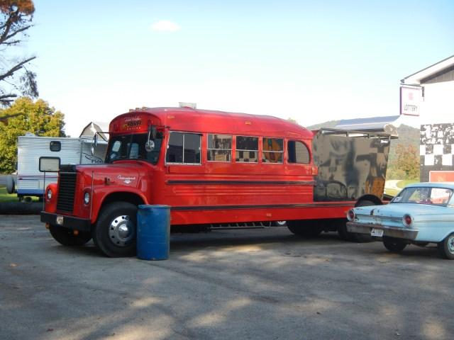 School Bus Tow Truck