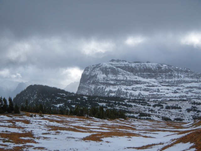 Heavy Runner Mountain at Glacier