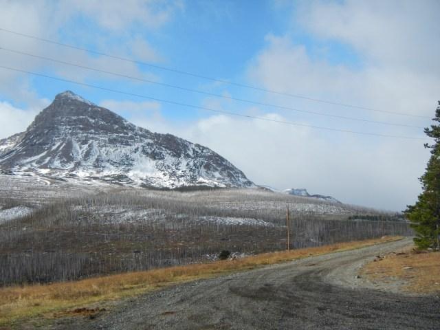 Glacier National Park Peak