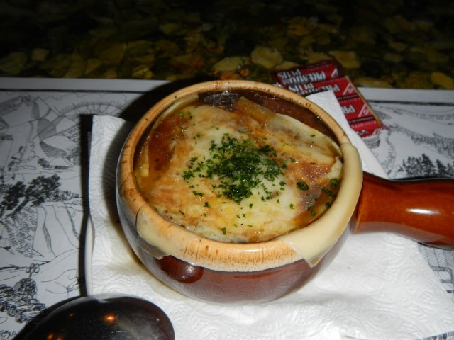 French Onion Soup at the Grizzly House